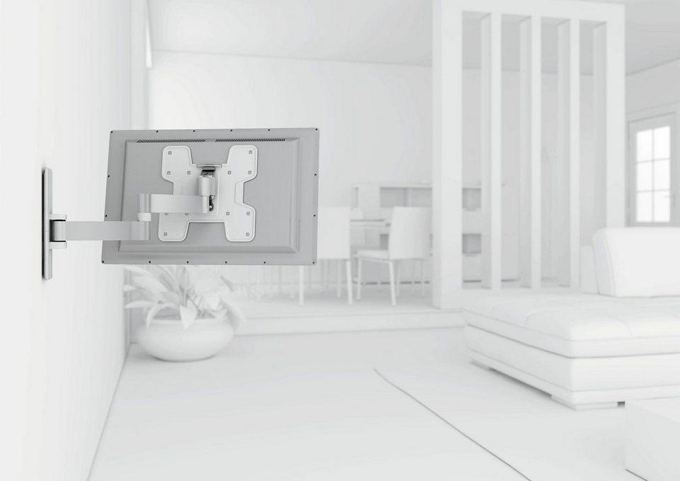 vogel's® TV-Wandhalterung »WALL 2145« schwenkbar, für 48-94 cm (19-37 Zoll) Fernseher, VESA 200x200 in weiß