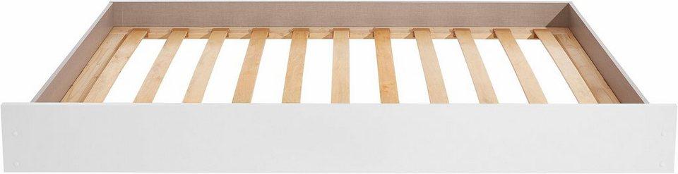 rauch Bettschubkasten mit 2. Schlafgelegenheit in weiß