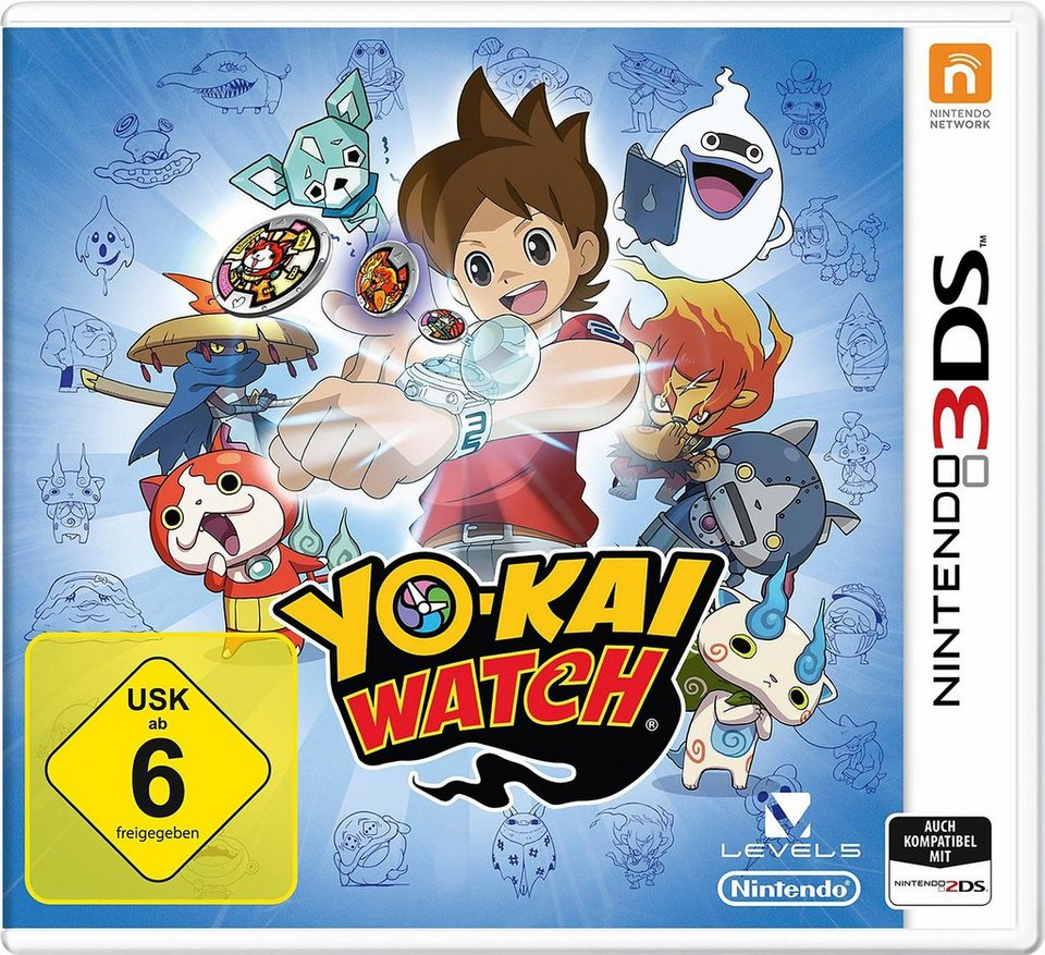 Yo kai watch nintendo 3ds online kaufen otto for Chambre yo kai watch