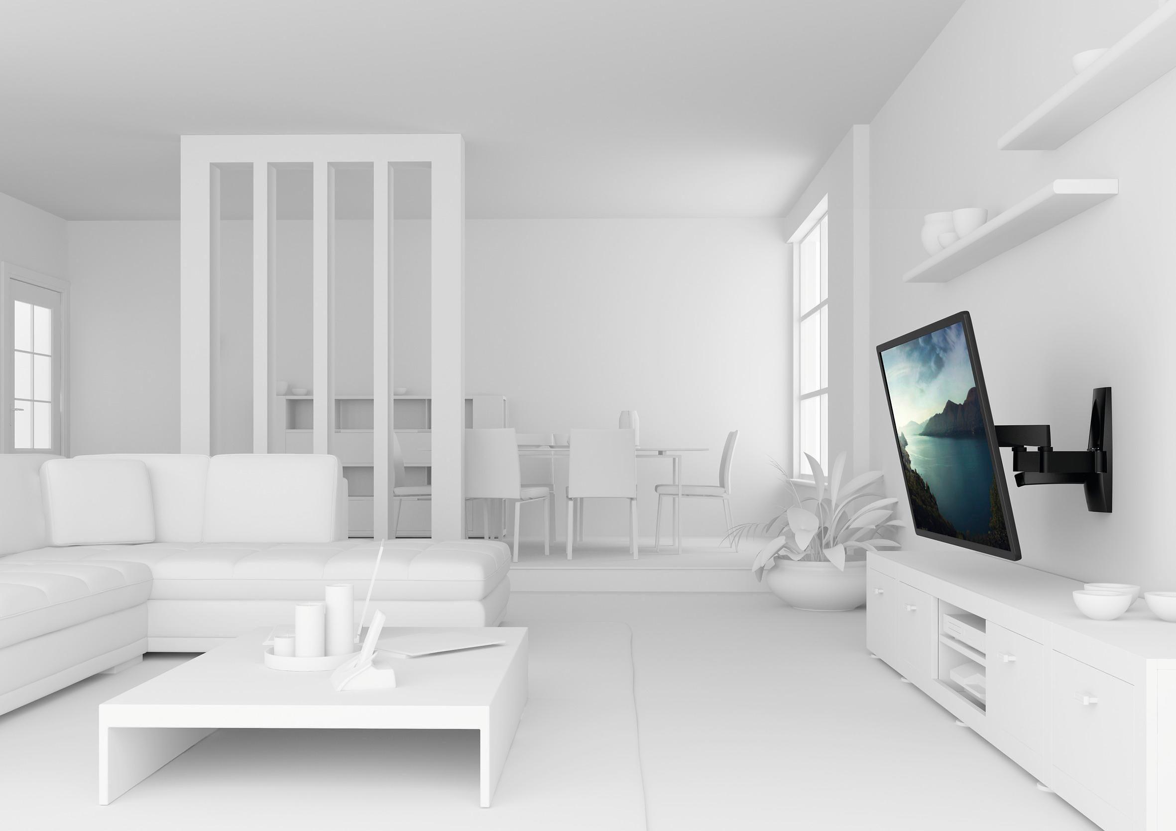 vogel's® TV-Wandhalterung »WALL 2250« schwenkbar, für 81-140 cm (32-55 Zoll) Fernseher, VESA 400x400