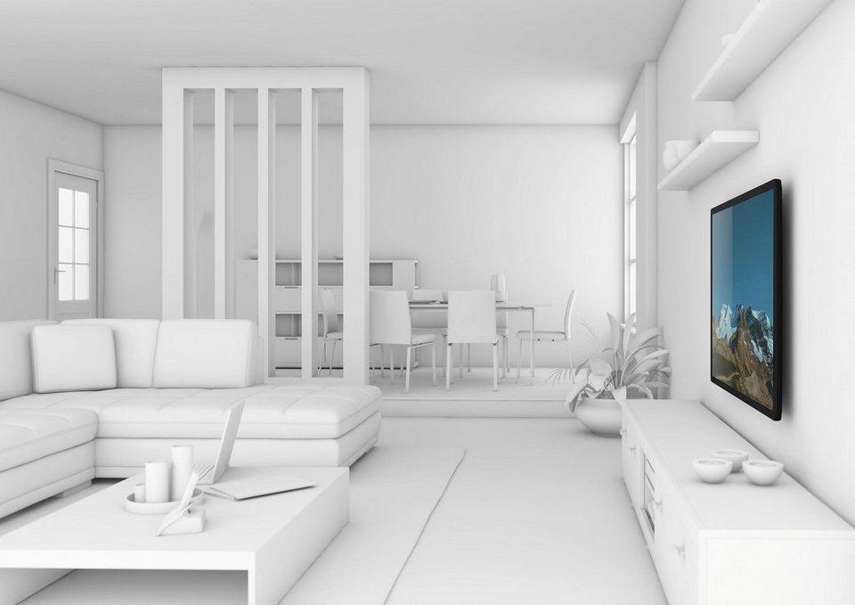 vogel's® TV-Wandhalterung »WALL 2205« starr, für 81-140 cm (32-55 Zoll) Fernseher, VESA 400x400 in schwarz