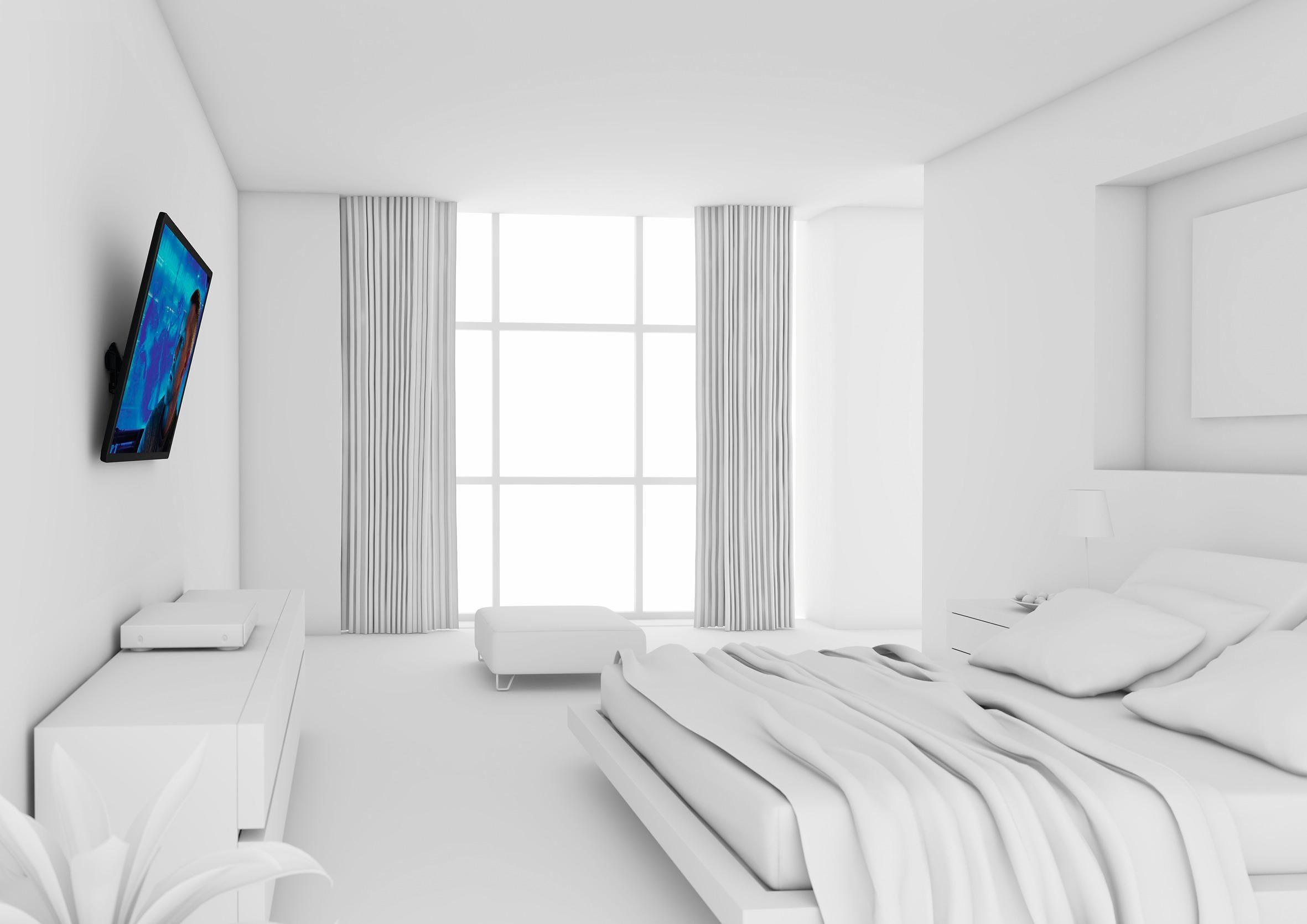 vogel's® TV-Wandhalterung »WALL 2215« neigbar, für 81-140 cm (32-55 Zoll) Fernseher, VESA 400x400