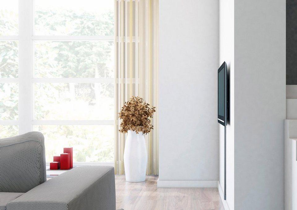 vogel's® TV-Wandhalterung »THIN 305« starr, für 102-165 cm (40-65 Zoll) Fernseher, VESA 600x400 in silber/anthrazit