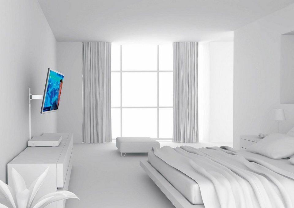 vogel's® TV-Wandhalterung »WALL 2225« schwenkbar, für 81-140 cm (32-55 Zoll) Fernseher, VESA 400x400 in weiß