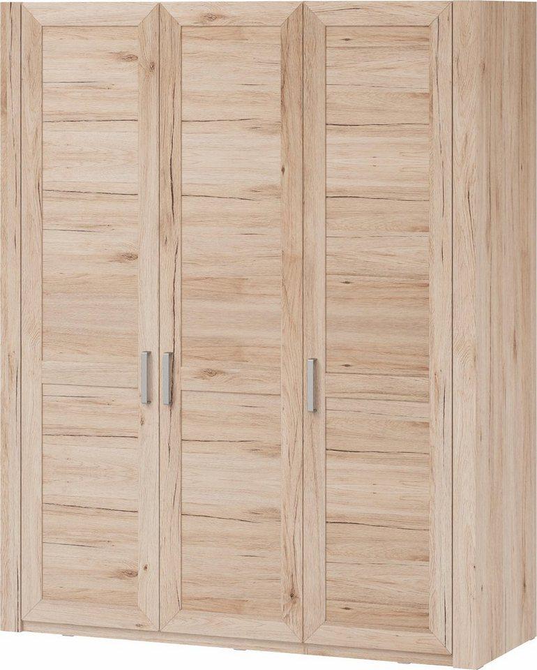 set one by Musterring Kleiderschrank »Oakland« Typ 74, San Remo Sand, 3-türig im Landhausstil