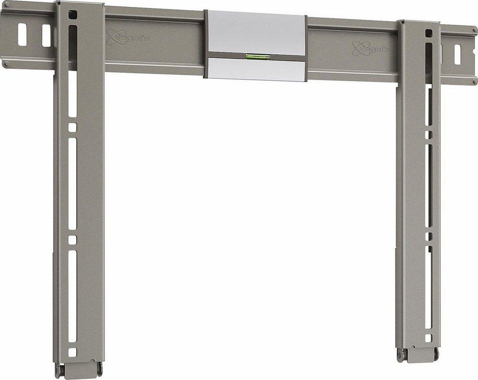 vogel's® TV-Wandhalterung »THIN 205« starr, für 66-140 cm (26-55 Zoll) Fernseher, VESA 400x400 in silber/anthrazit