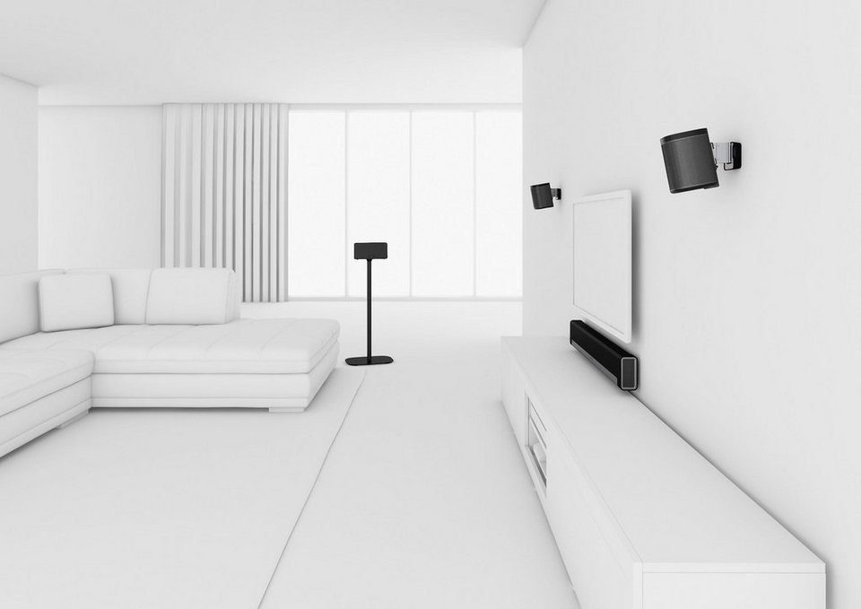 vogel's® Lautsprecher-Bodenständer »SOUND 4301« für SONOS PLAY:1 in schwarz