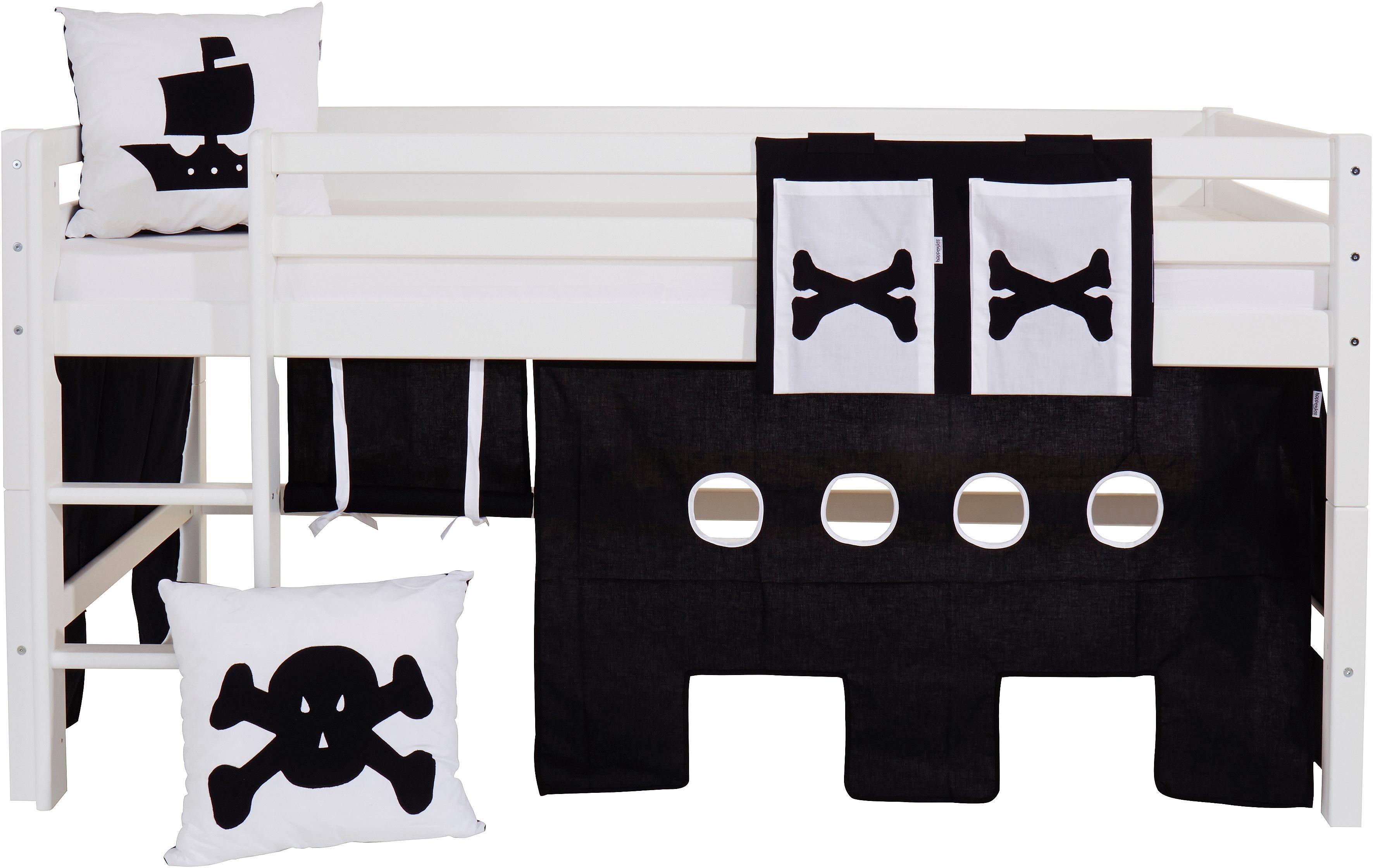 Hoppekids Vorhang-Set »Pirat« (4-tlg.)