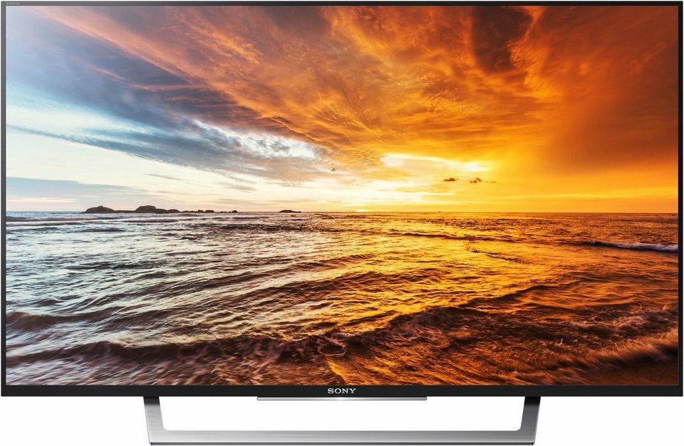 Sony KDL-49WD755, LED Fernseher, 123 cm (49 Zoll), 1080p (Full HD), Smart-TV in schwarz