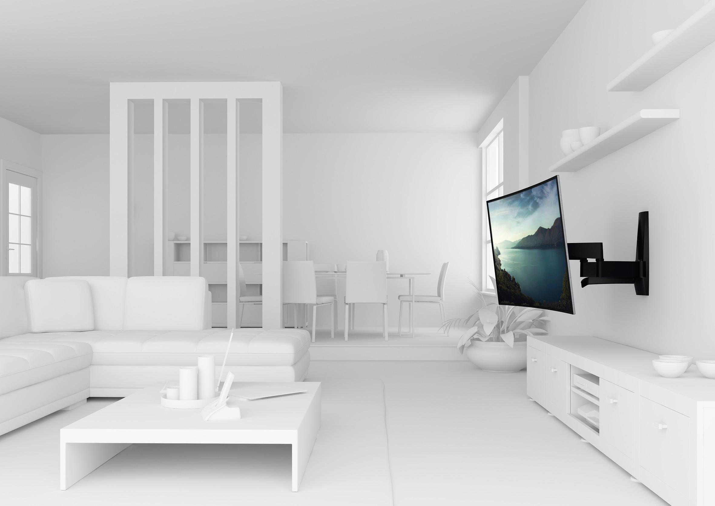vogel's® TV-Wandhalterung »WALL 2350« schwenkbar, für 102-165 cm (40-65 Zoll) TV, VESA 600x400