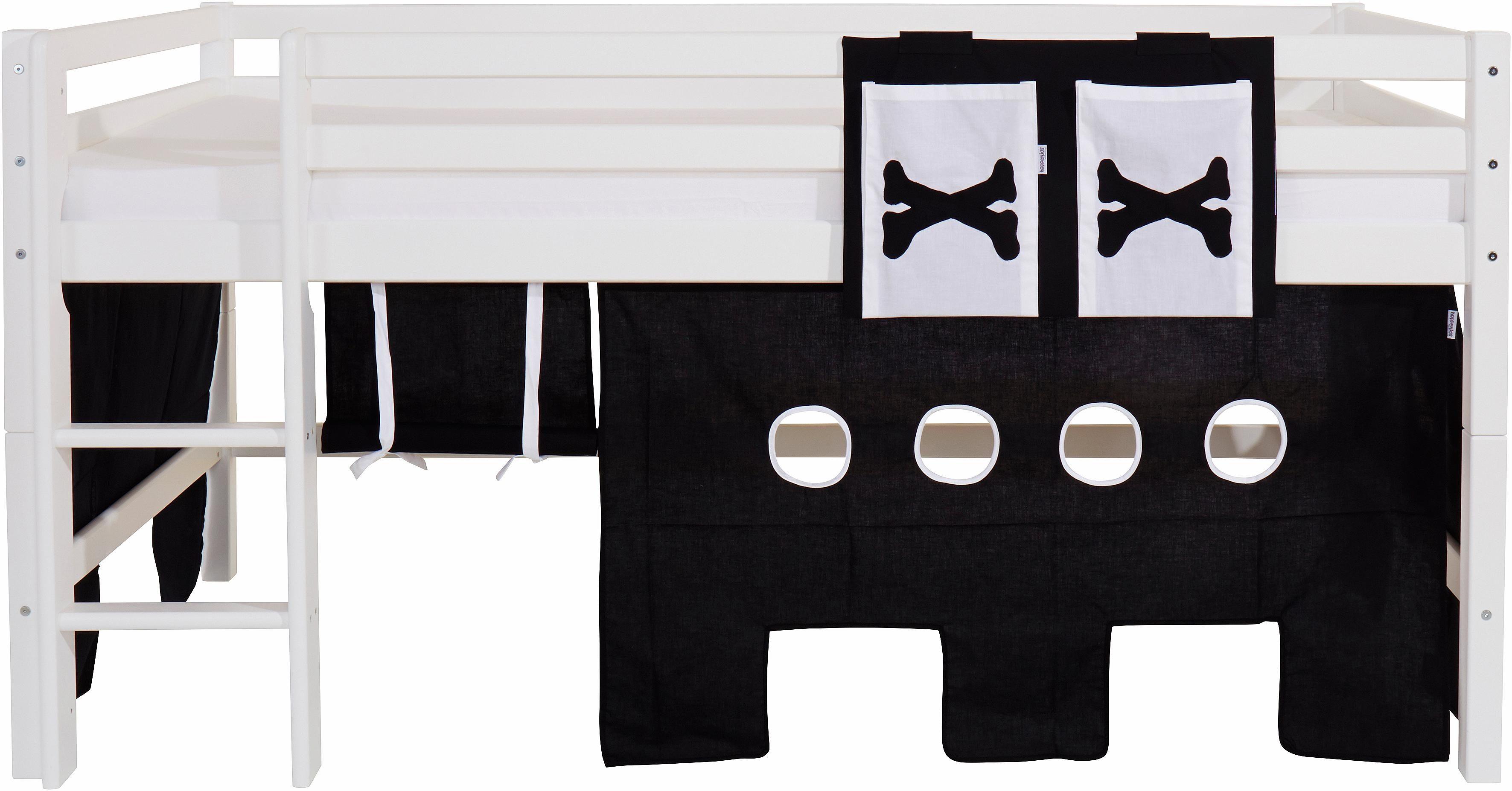 Hoppekids Vorhang-Set »Pirat« (2-tlg.)