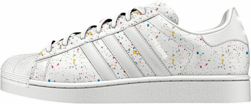 adidas Originals »Superstar« Sneaker in weiß-bunt