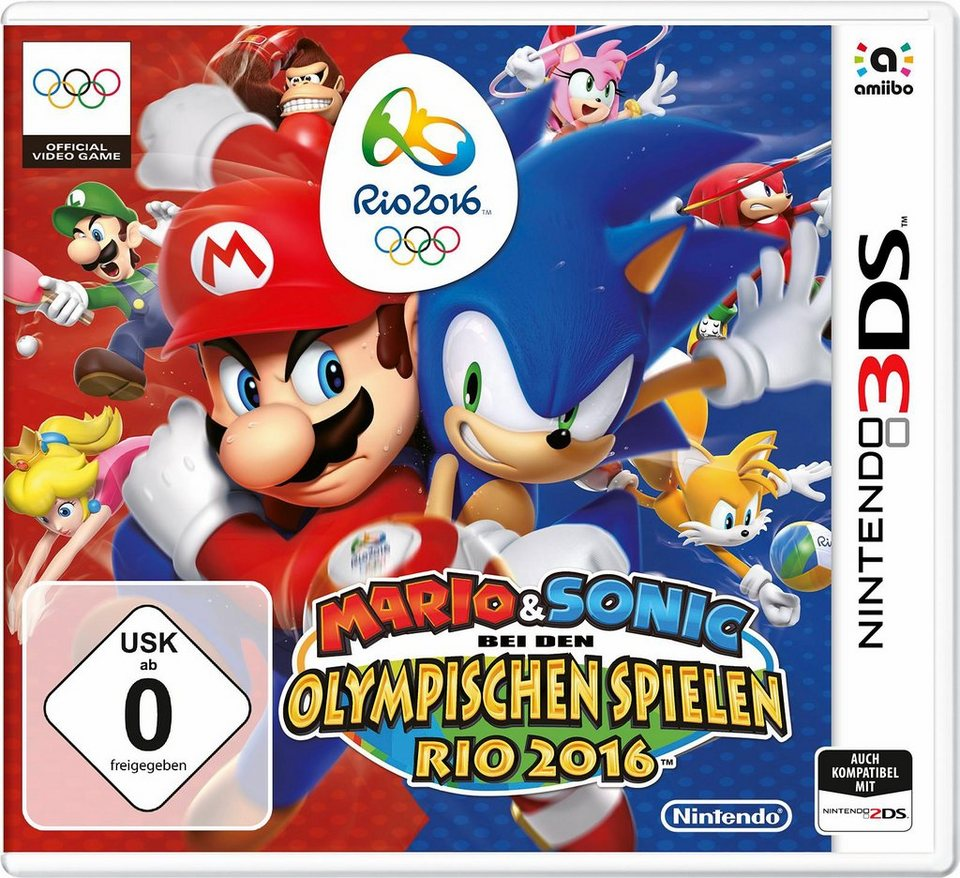 Mario & Sonic bei den Olympischen Spielen Nintendo 3DS