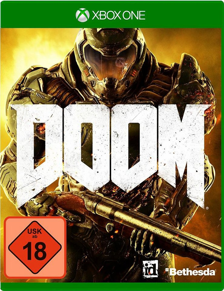 Doom Day One Edition 100% Uncut Xbox One