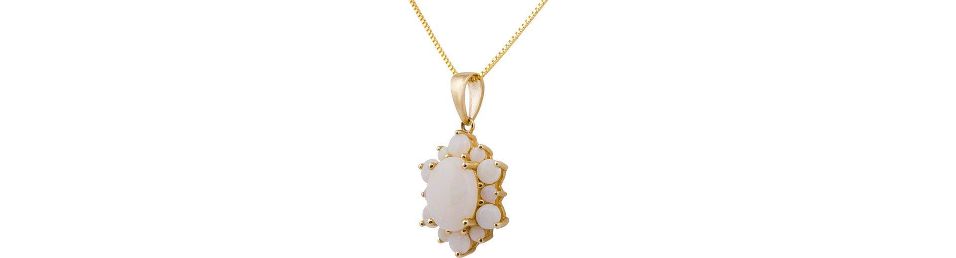 Vivance Jewels Kette mit Anhänger, mit Opalen