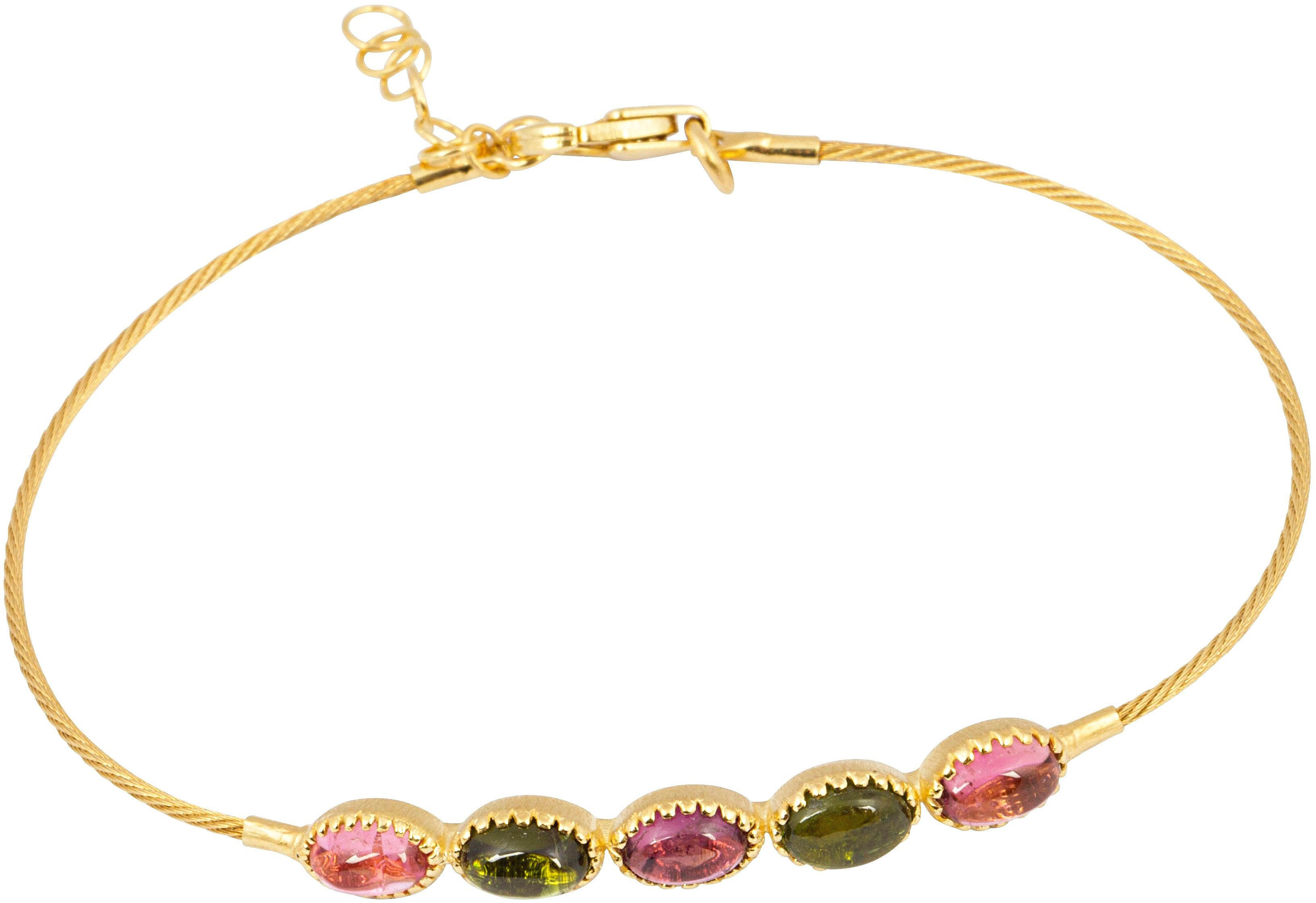vivance jewels Armband mit Turmalinen