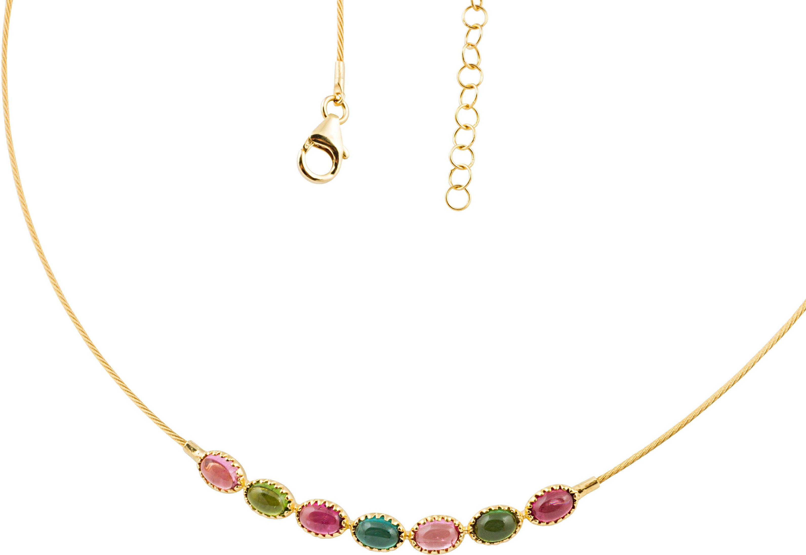 Vivance Jewels Kette mit echten Turmalinen