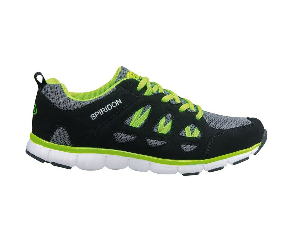Brütting Sneaker »SPIRIDON FIT« in grau/schwarz/grün