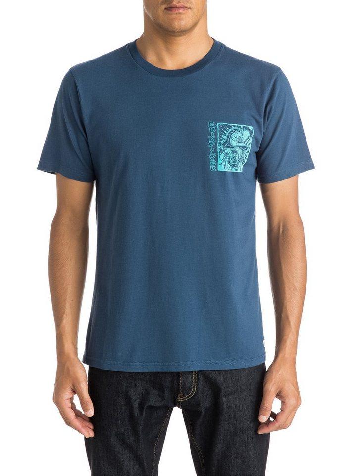 Quiksilver T-Shirt »White Light« in dark denim