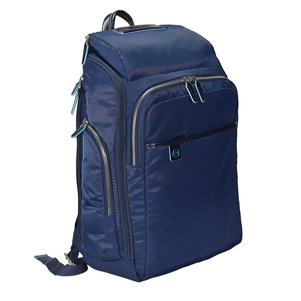 Piquadro Celion Rucksack 45 cm Laptopfach in blau