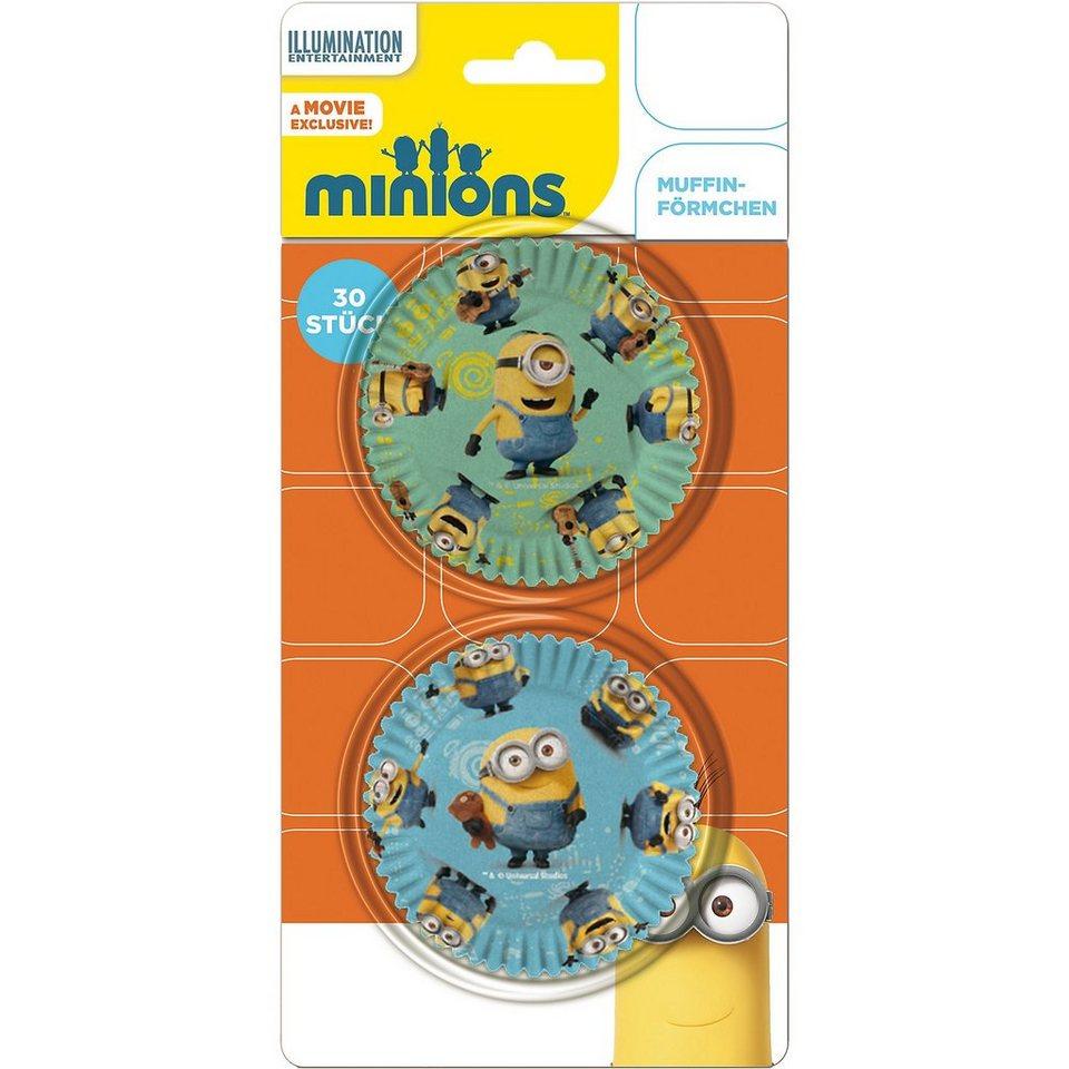 P:OS Muffinförmchen Minions, 30 Stück