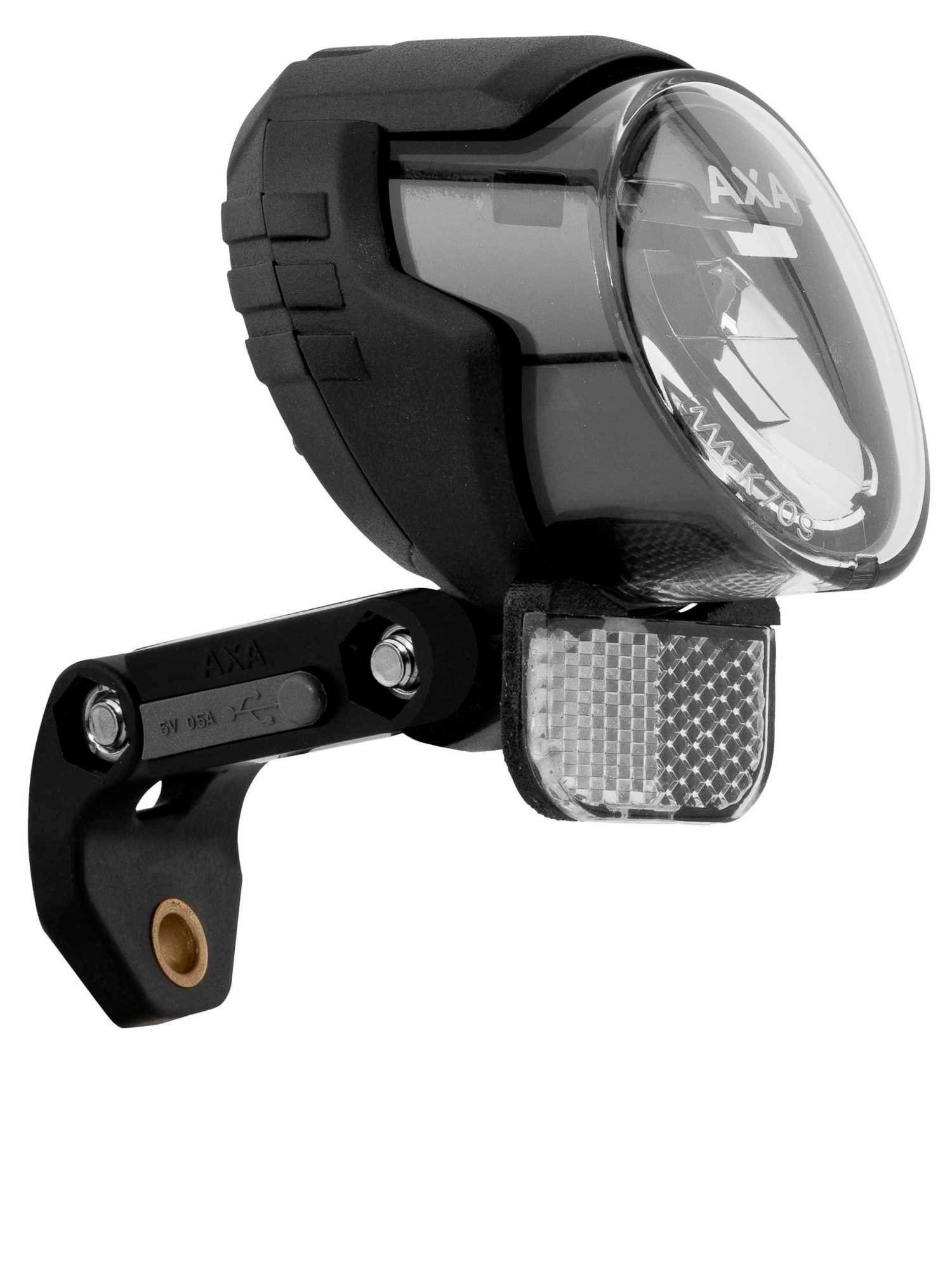 AXA Fahrradbeleuchtung »Luxx70 Plus Steady Auto Scheinwerfer«