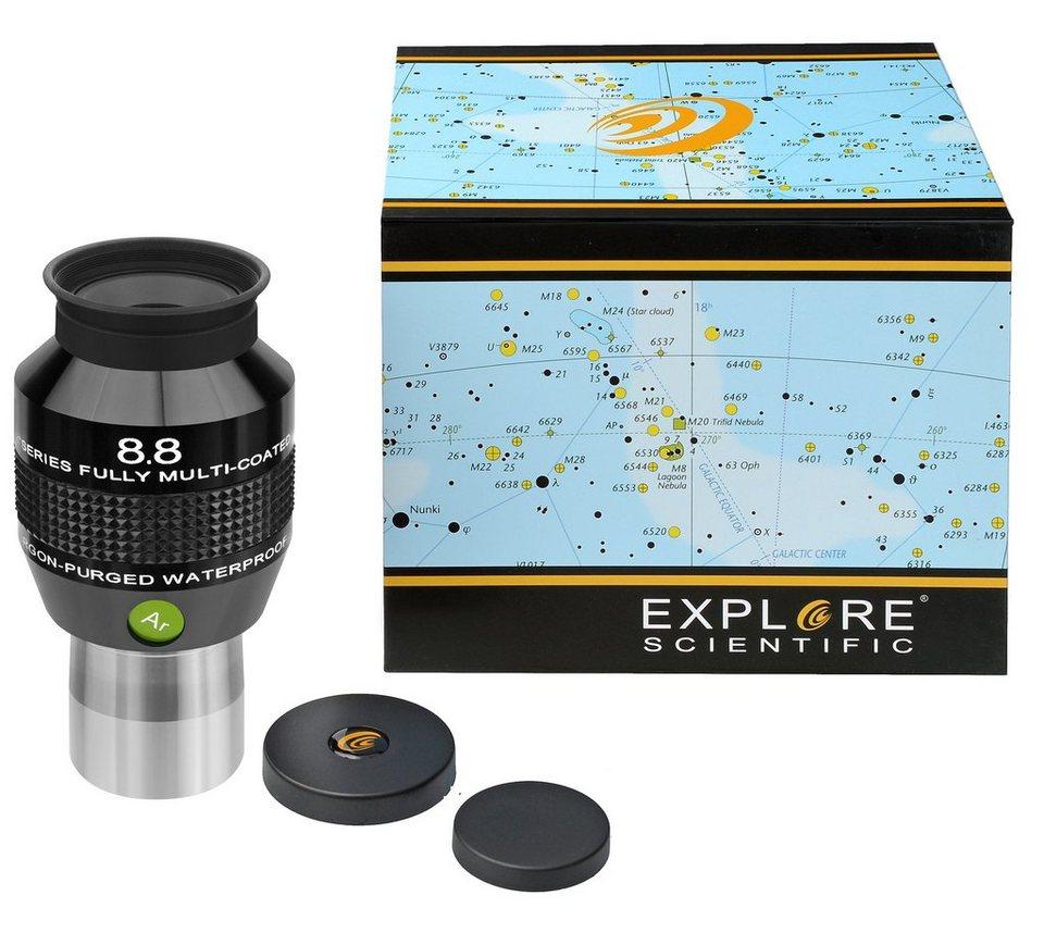 "Bresser Teleskop »EXPLORE SCIENTIFIC 82° N2 Okular 8,8mm (1,25"")«"