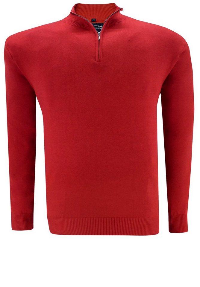 GCM Pullover in Rot