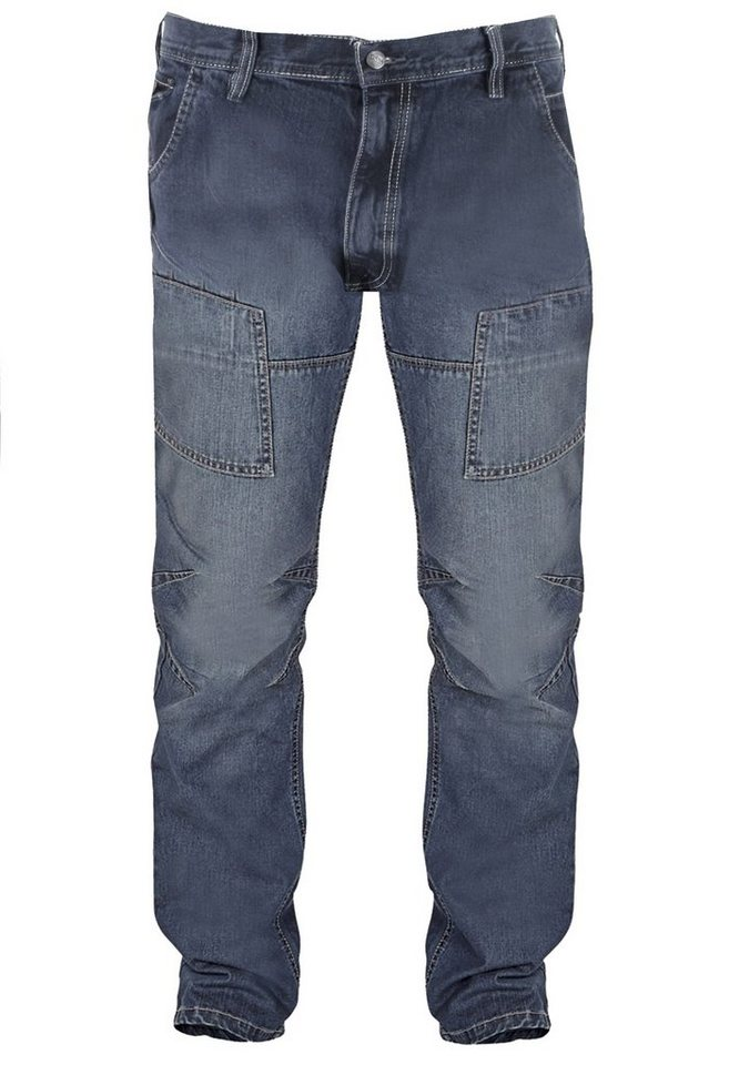 D555 Jeans in Blue Used Wash