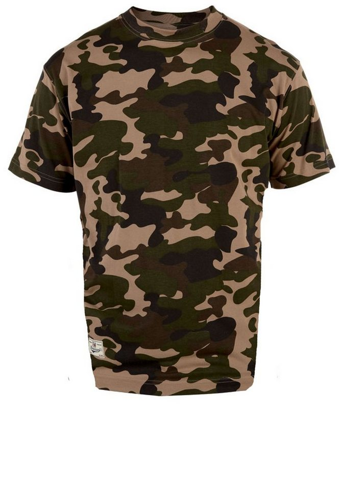 Duke London T-Shirt in Army Green