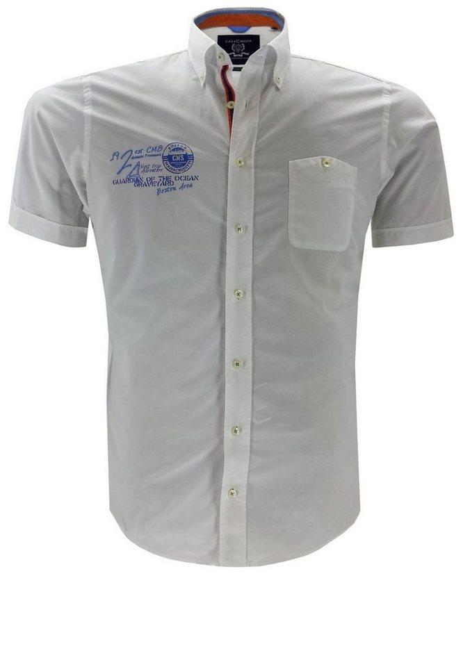 Casamoda Kurzarmhemd in Weiß