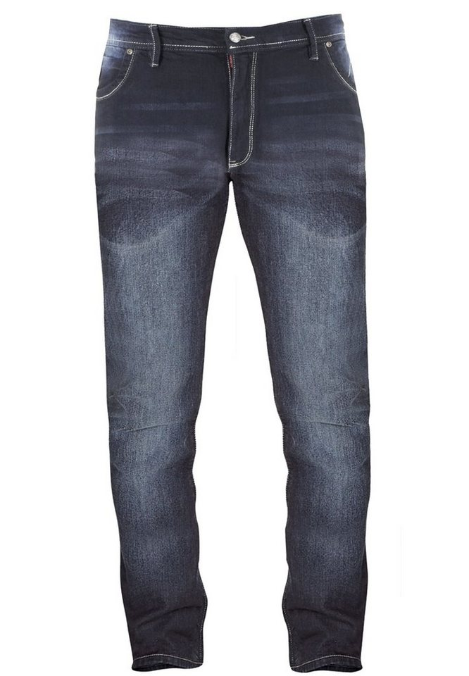 D555 Jeans in Blue Stone Washed
