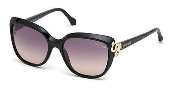 Just Cavalli Damen Sonnenbrille » JC792S«, schwarz, 01B - schwarz/grau