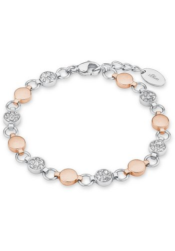 Damen s.Oliver RED LABEL Armband 9239443 mit Swarovski® Kristallen silber | 04020689239443