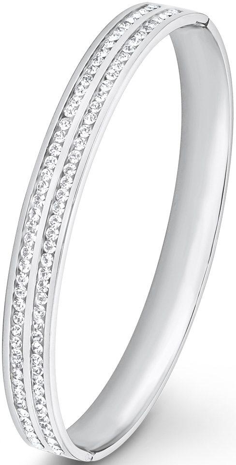 s.Oliver Armreif mit Swarovski® Kristallen, »SO1448/1«