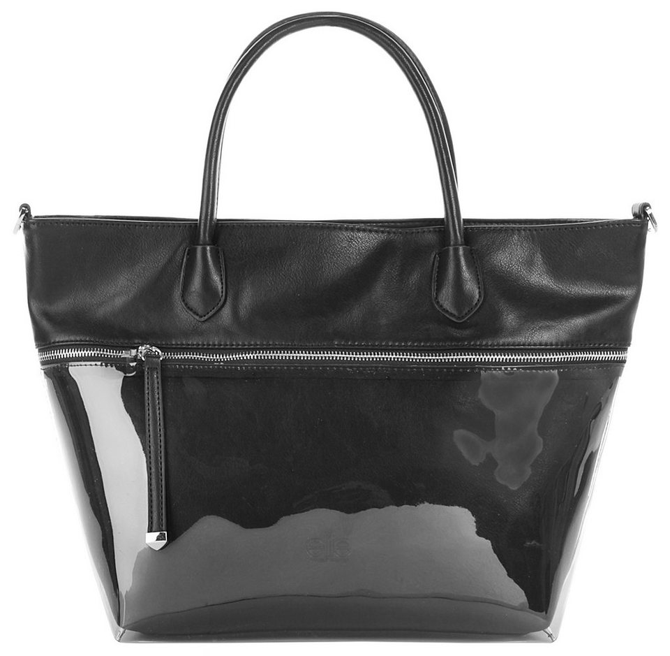 ELITE MODEN Damen Handtasche »Matty« in schwarz