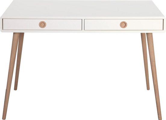 Home affaire Schreibtisch »Softline«, im Retro Design, in 2 Größen