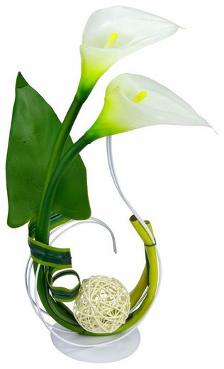 Kunstpflanze »Calla« Calla, I.GE.A., Höhe 40 cm