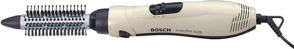 Bosch, Warmluftstylingbürste, beautixx curly PHA2000 in weiß/schwarz