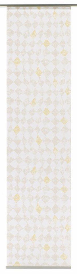 Schiebegardine, Gardinia, »Swedish Moments Circus« (1 Stück mit Zubehör) in beige