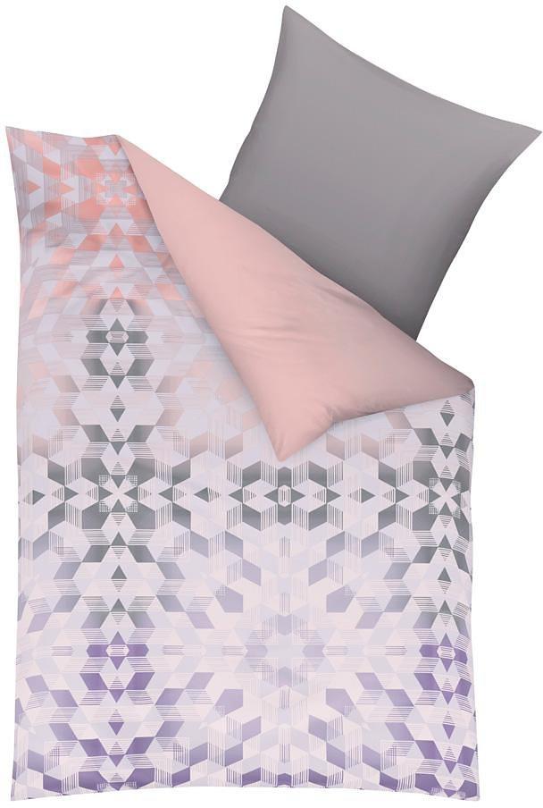 Wendebettwäsche, Kaeppel, »Coachella«, mit Wendedesign in rosé