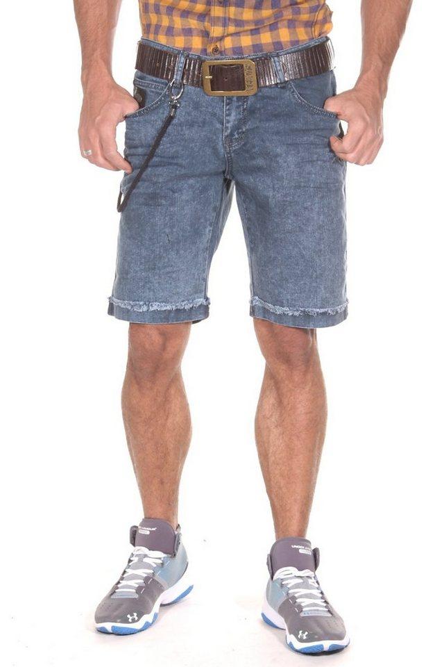 CATCH Denim Shorts in blau