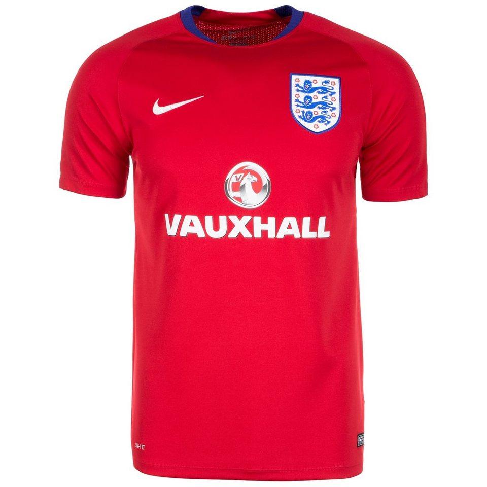 NIKE England Flash Trainingsshirt EM 2016 Herren in rot / blau / weiß