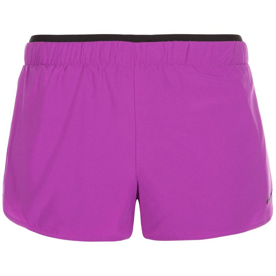 NIKE Full Flex 2-in-1 Trainingsshort Damen in violett / schwarz