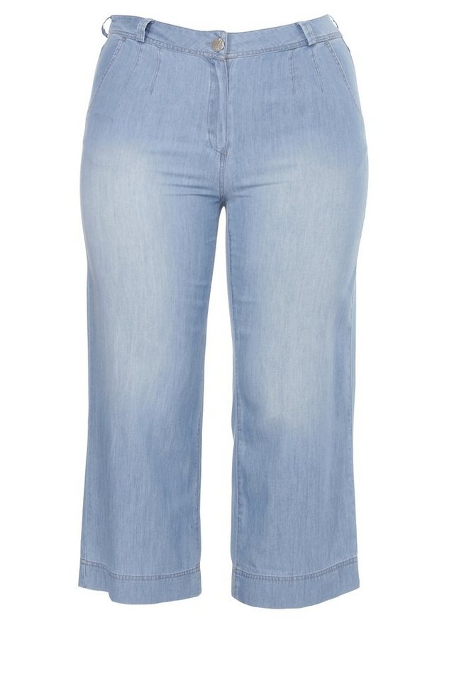 FRAPP 7/8-Sommer-Hose im Jeans-Look in LIGHT DENIM BLUE