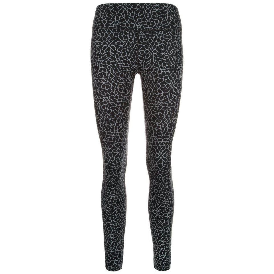 NIKE Starglass Epic Run Lauftight Damen in schwarz / grau