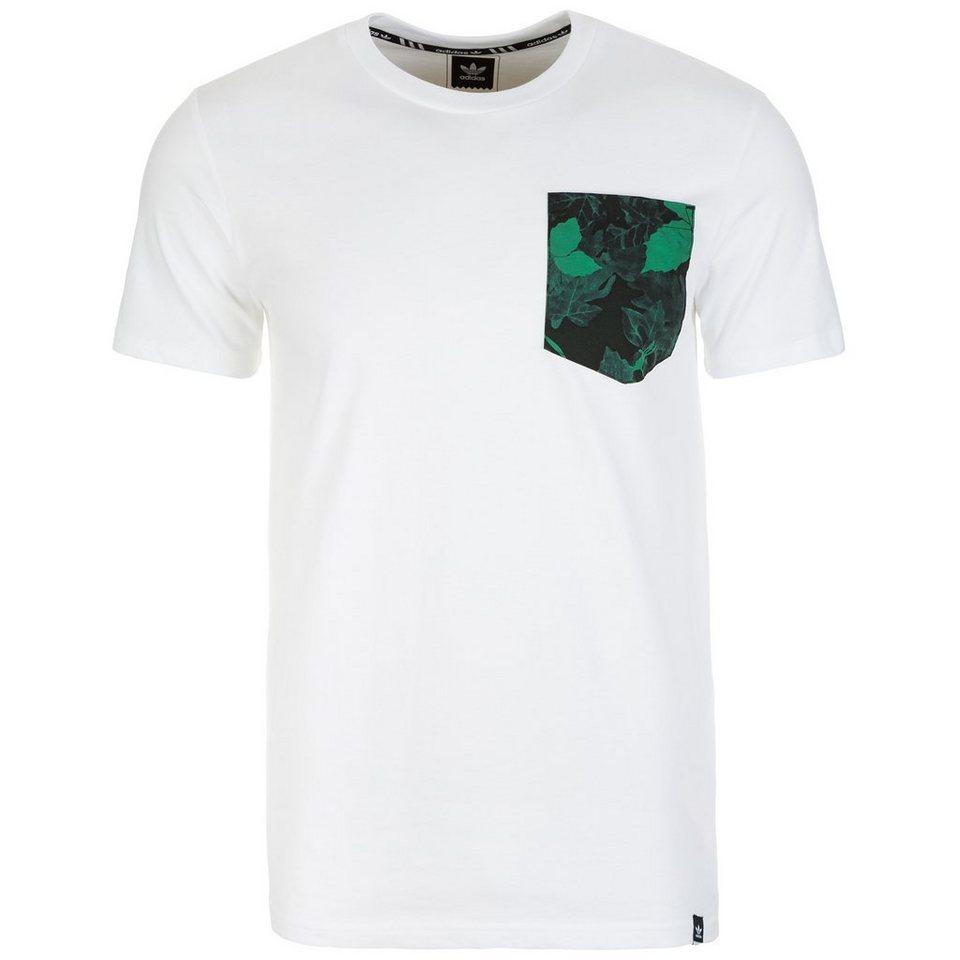adidas Originals Poison Ivy Pocket T-Shirt Herren in weiß