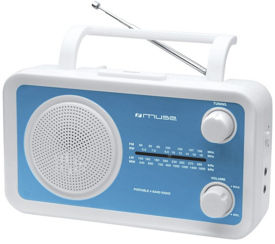 Muse Kompaktradio »M-05 BL« in blau
