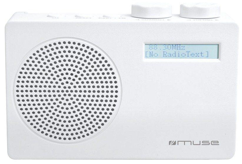 Muse Digital-Radio in schlichtem Design »M-100 DW« in weiß
