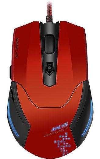 SPEEDLINK Gaming Maus »AKLYS Gaming Mouse schwarz-rot«